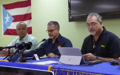 Conferencia de prensa de la Utier sobre el colapso energético del...