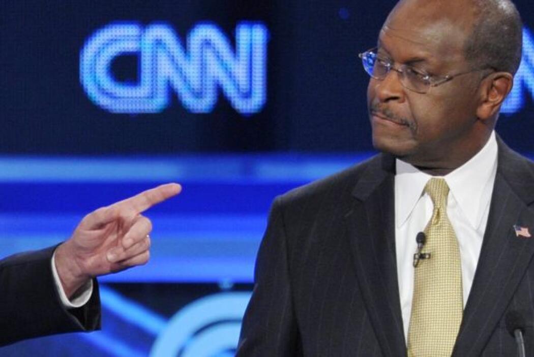 Por el momento, la popularidad de Herman Cain ha disminuido y actualment...