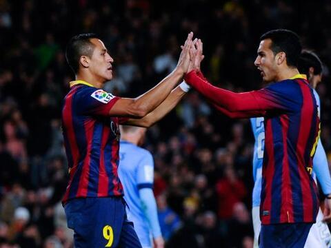 El Barcelona goleó al Málaga (3-0), este domingo en el Cam...