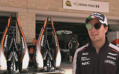 """'Checo' Pérez: """"Sólo me falta un coche competitivo para demostrar que pu..."""