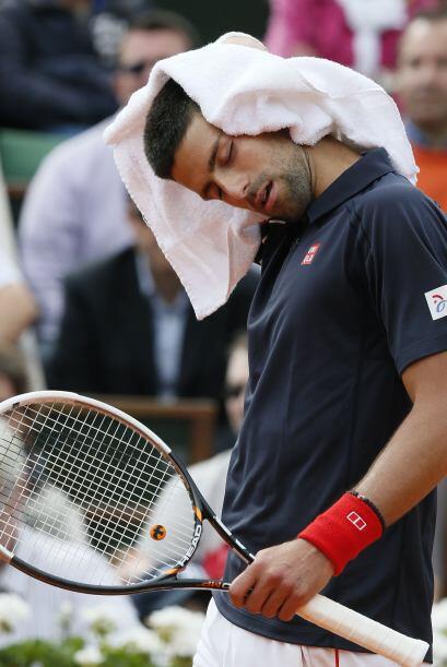 Hasta esta ronda, Djokovic no había cedido un solo set, pero ahora son l...