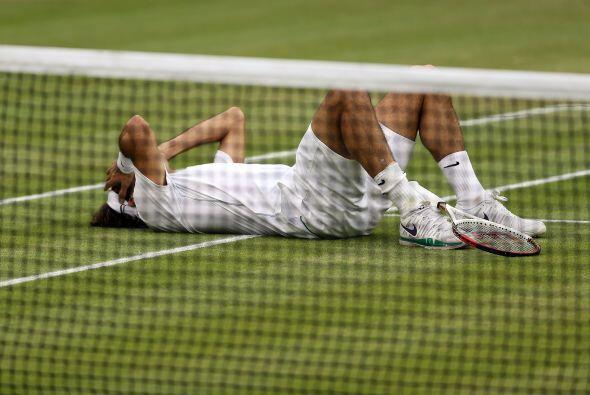 Con esta proeza, Federer recuperó el número uno del mundo...