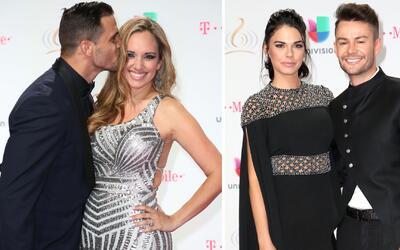 Alfombra de besos: Pedro Moreno y Livia Brito se pusieron románticos con...