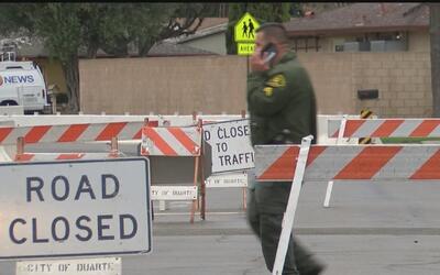 Cancelan orden de evacuación en Duarte porque la alerta se redujo
