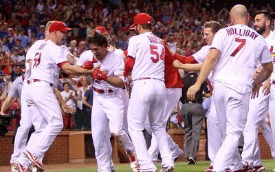 Cardinals derrotó 4-3 a Cubs