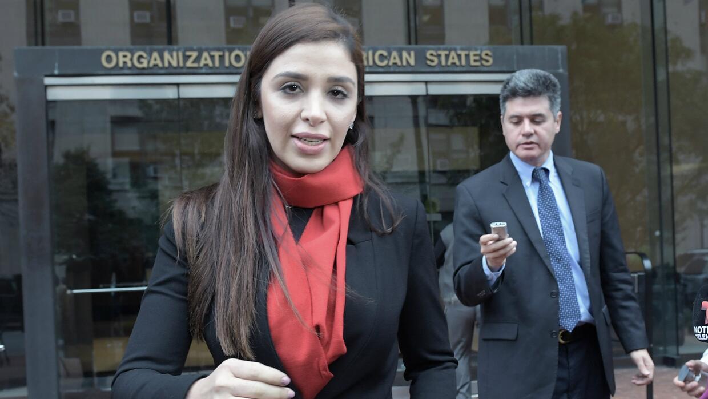 Esposa de 'El Chapo' Guzmán pide ayuda a la OEA para terminar lo que lla...