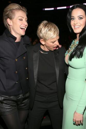 Nunca habíamos visto tan atenta a Ellen Degeneres desde la última visita...