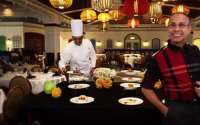 Conoce los restaurants temáticos del Disney Cruise Line