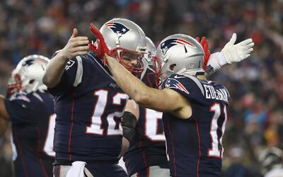Patriots arrollaron 36-17 a Steelers y se meten de nuevo al Super Bowl