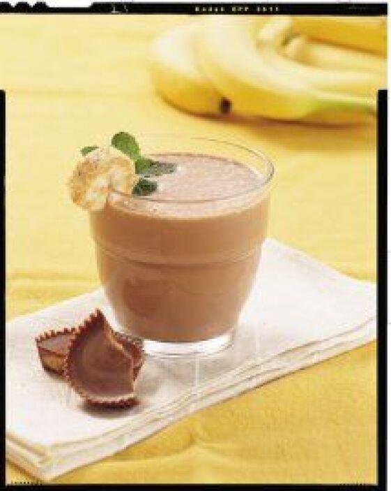 Licuados de plátano con mantequilla de maní  - Las bebidas no se salvan...