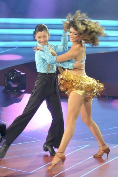 Max, como siempre, mostró su gran profesionalismo y bailó como si tuvier...