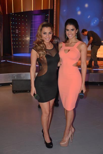 La guapa modelo Rosina Grosso y la bella Vanessa De Roide lucieron espec...