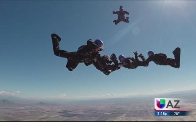 ¡Los mejores paracaidistas reunidos en Phoenix!