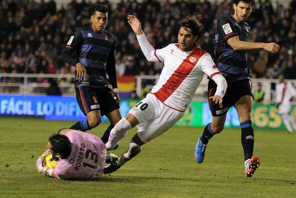 En el Campo de Vallecas, el equipo dirigido por Paco Jémez necesitaba el...