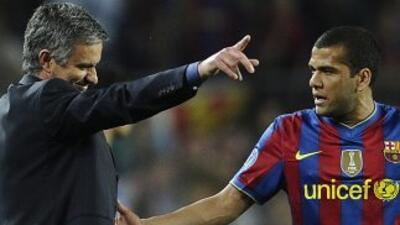 El lateral brasileño y el técnico portugués han tenido algunos duelos ve...