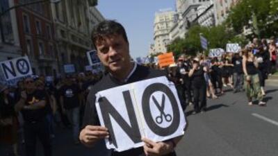Los elevados índices de desempleo en España crean un riesgo elevado de q...