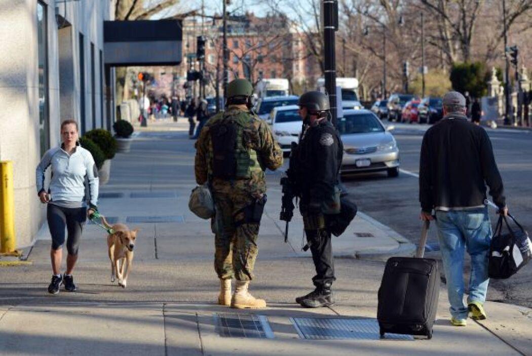 El alcalde de Boston mencionó que habrá voluntarios que brindarán inform...