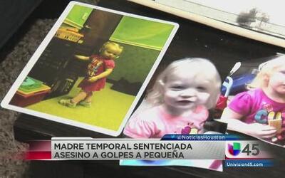 Cadena perpetua para madre adoptiva que mató a una niña