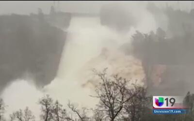 Investigadores descubren nuevos daños en la presa de Oroville