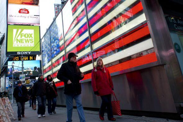 La brisa en Nueva York genera una sensación términa más baja que lo seña...