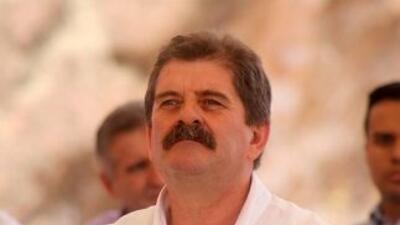 El alcalde de Zapotlanejo, Jalisco, Francisco Javier Pulido Álvarez, deb...