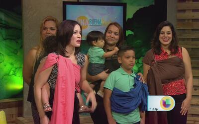 El carguete de los bebés ¿contribuye a malcriarlos?