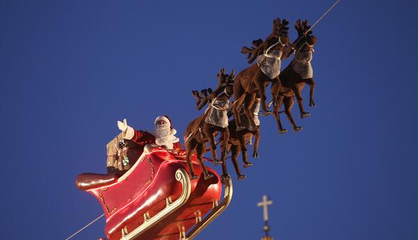 Ubique a Santa Claus, desde cualquier parte, por medio de esta página web