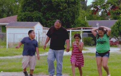 El día a día de una familia refleja la pobreza en que viven miles de his...