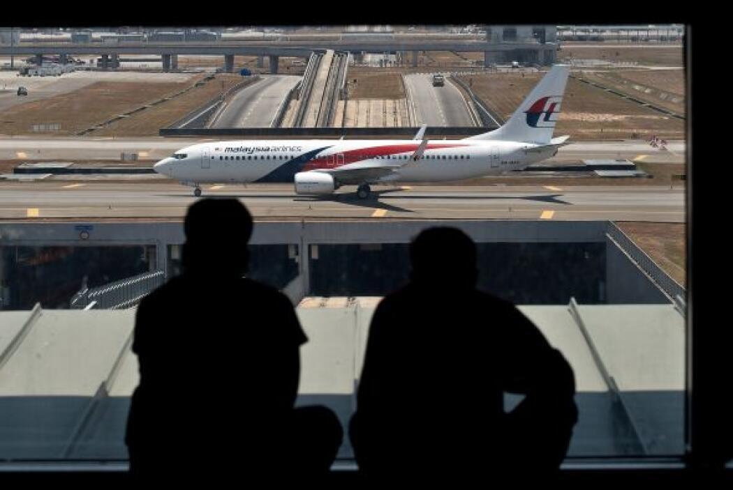 Un Boeing 777-200 de la aerolínea Malaysia Airlines despegó de Kuala Lum...