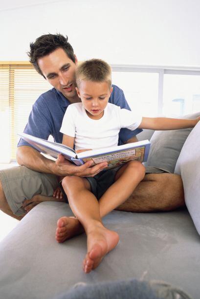 A los chicos les encanta tomar el libro en sus manos o pasar las páginas...