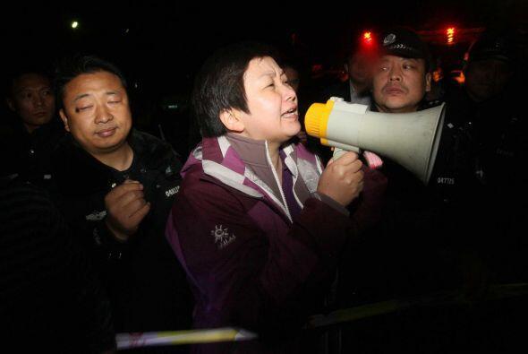 Los activistas forman parte de la Asociación China Protectora de Animales.