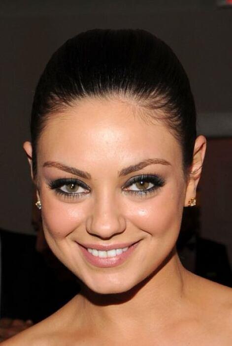 La atractiva mirada de Mila Kunis se debe por la diferencia en el color...