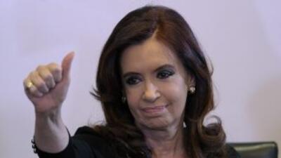 La presidenta argentina recibió el alta médica el pasado 9 de noviembre,...