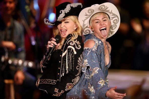 ¿La reina cambió de princesa? Parece que Madonna est&aacut...