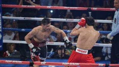 Sergio Martínez salió con la mano rota de su pelea contra Julio César Ch...
