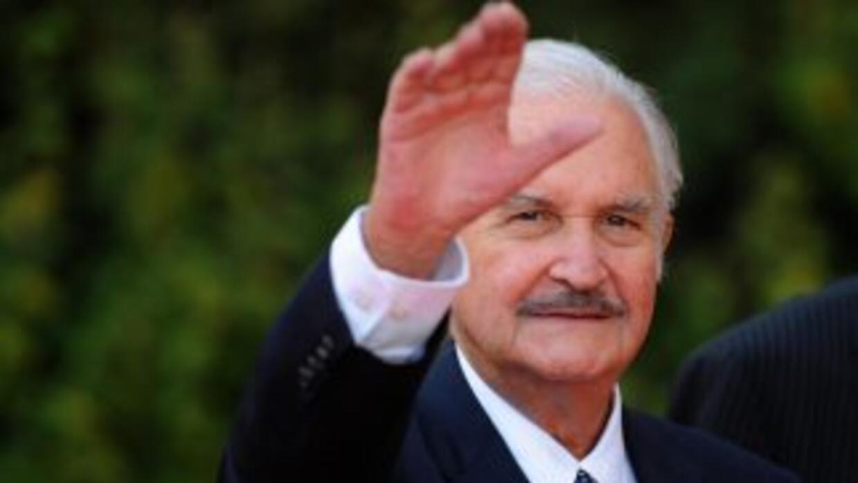 El escritor mexicano Carlos Fuentes.