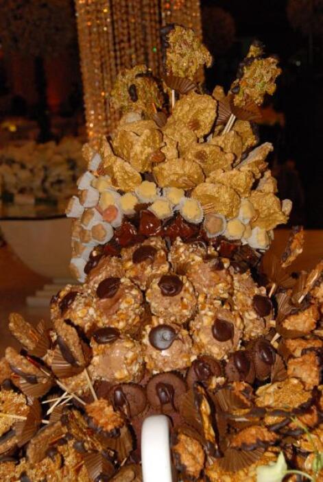 La mesa de dulces no podía faltar, para poner aún más sabor a esta bella...