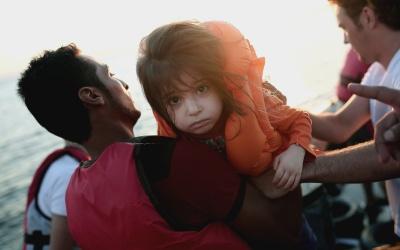 Intervención divina evitó tragedia en Texas GettyImages-Migrant-Wreck-Gr...