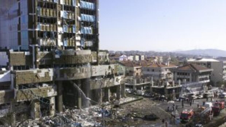 Uno de los atentados de Al Qaeda.