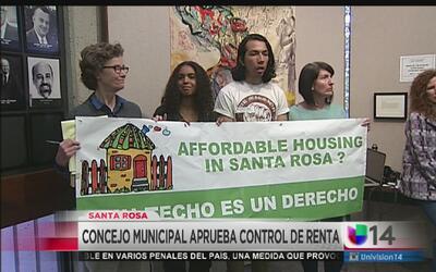 Aprueban control de renta en San Rosa