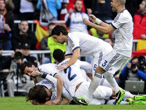 El Real Madrid se dio una inyección de moral antes de jugar contr...