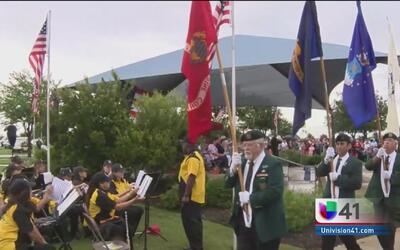 Rinden tributo a soldados caídos en San Antonio