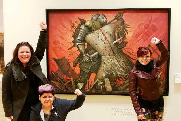 Las guerreras del Team Dulce listas para lo que sea... ¡Aahuuuuu!