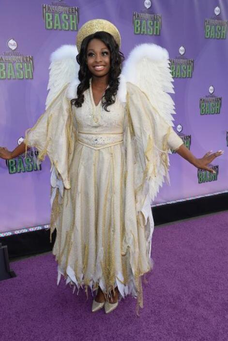 ¿De dónde salieron esas plumas? Es muy fácil disfrazarse de ángel, sólo...