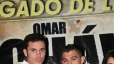 Omar Chávez y 'Maromerito' listos para la pelea (Foto: Facebook)