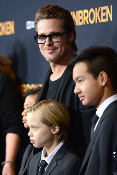 Una gran noche familiar para los Jolie-Pitt.