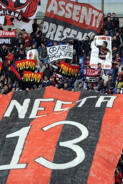 Alessandro Nesta también cumple un largo ciclo con los 'rossoneri...