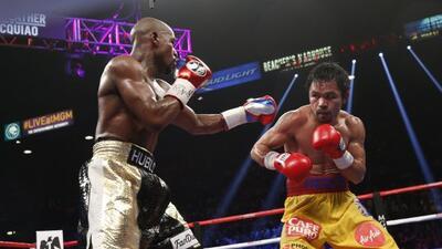 Mayweather hizo contra Pacquiao lo que ha hecho en todas sus peleas.