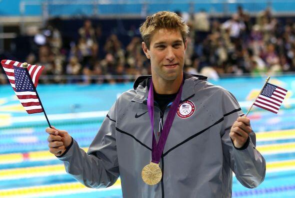 8- MATT GREVERS, nadador  Medallas de oro: 2  Medallas de plata: 1  Meda...