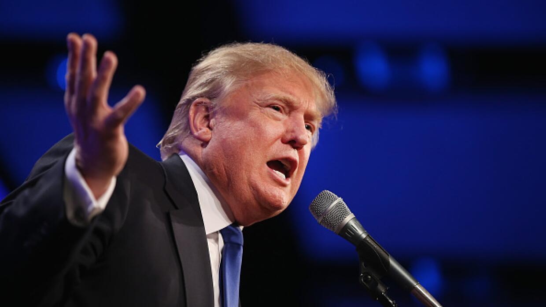 El magnate estadounidense Donald Trump anunció su intenció...